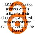 JASSS thanks the authors of this article for their donation