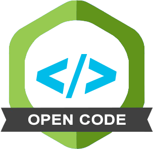 The Open Code badge indicates that this article has archived the source code needed to reproduce the reported results in an open access, trusted digital repository.